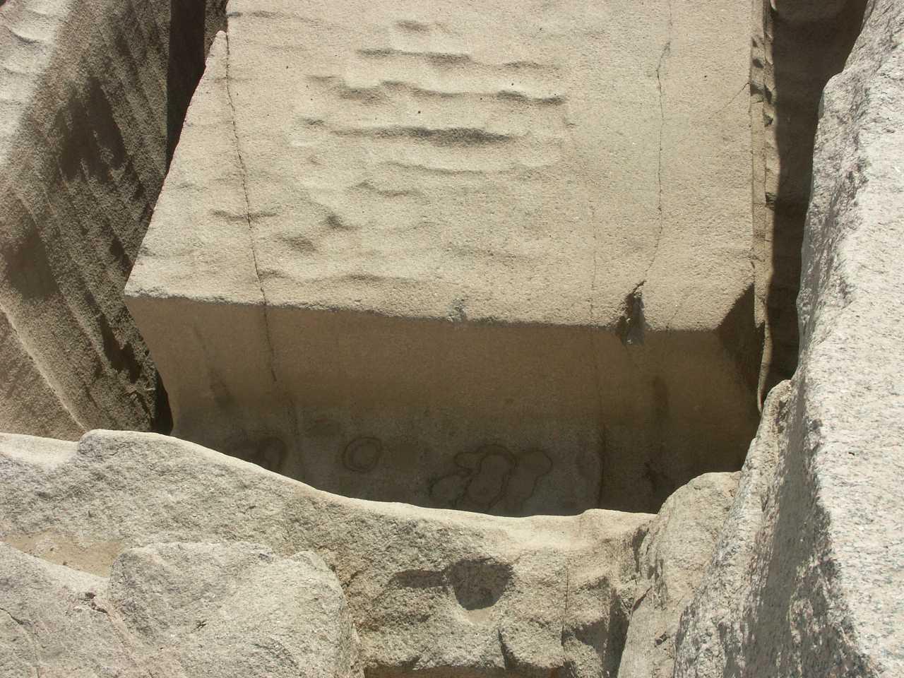 unvollendeter obelisk von assuan